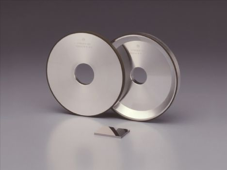 DIAMOND WHEELS FOR MIRROR FINISHING OF DIFICULT TO CUT MATERIAL