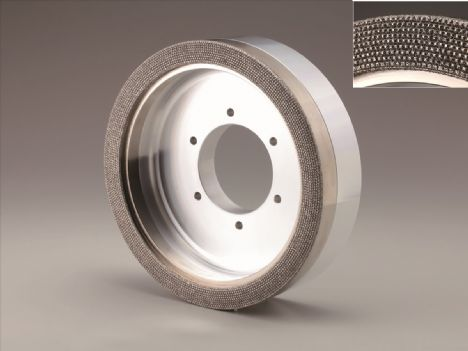 DEX-DIAMOND WHEEL FOR HIGH EFFICIENCY MILLIG OF DIFFICULT TO CUT MATERIAL